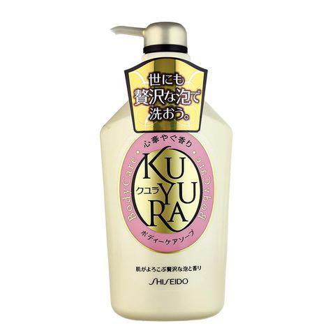 Sữa tắm Shiseido Kuyura dưỡng trắng da nâng niu làn da bạn