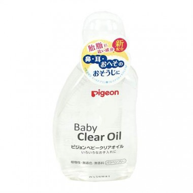 Dầu massage Pigeon Baby Clear Oil 80ml