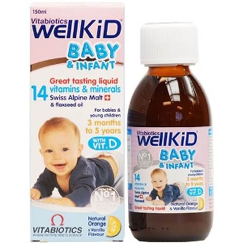 Vitamin tổng hợp Wellkid Baby & Infant - 150ml