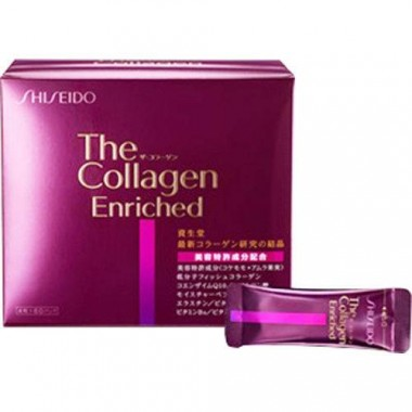 Shiseido The Collagen Enriched dạng viên - 240 viên