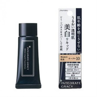 Kem nền Shiseido Integrate Gracy White Liquid Foundation