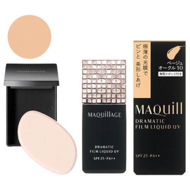 Kem nền Maquillage Dramatic film Liquid UV SPF25+